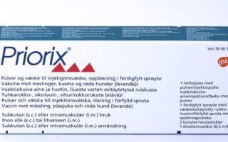 Прививка «Приорикс»: сколько действует, побочные эффекты, состав