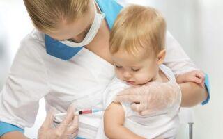 Прививка от кори: когда делается и сколько раз
