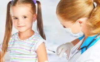 Какие прививки необходимы детям в 6 лет?